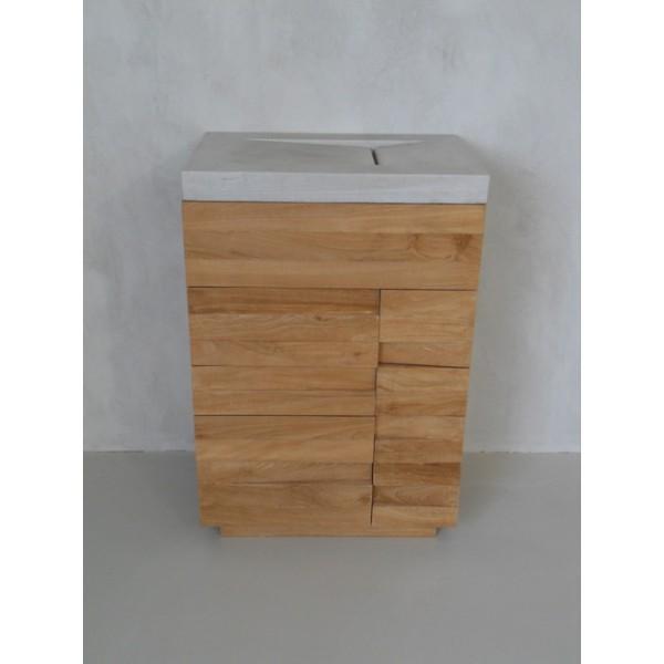 Meuble salle de bain 60 x 40 for Meuble 60x60