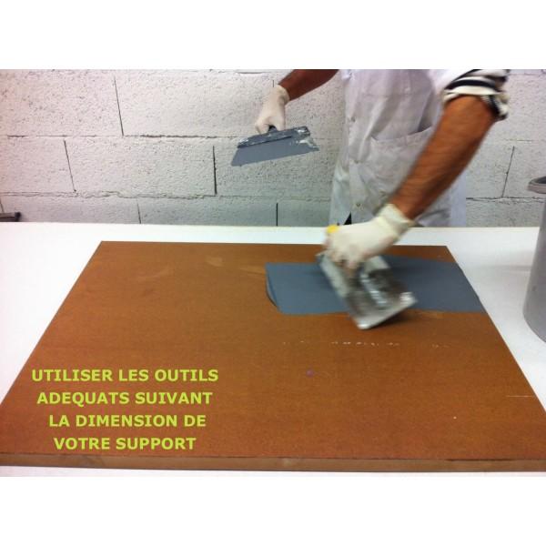 Kit de b ton cir spatulable 20kg for Beton cire sur plan de travail carrele
