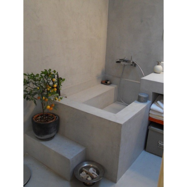 salle de bain beton cire le spcialiste du bton cir pour de salle de bain with salle de bain. Black Bedroom Furniture Sets. Home Design Ideas