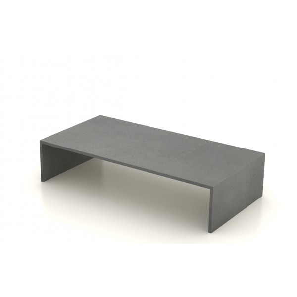 table basse beton cir 120x60 cm unnik b ton. Black Bedroom Furniture Sets. Home Design Ideas