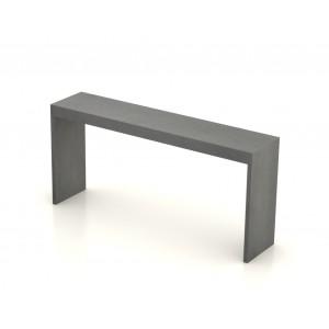 Console beton ciré - 140X35 cm